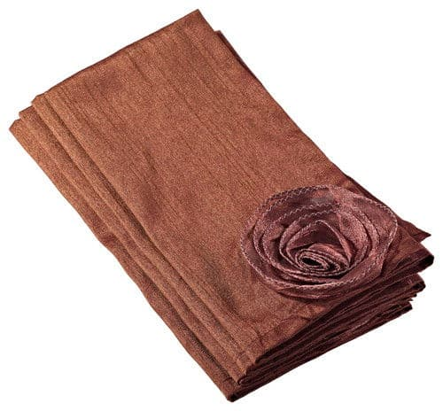Hayley rose chic design napkins.