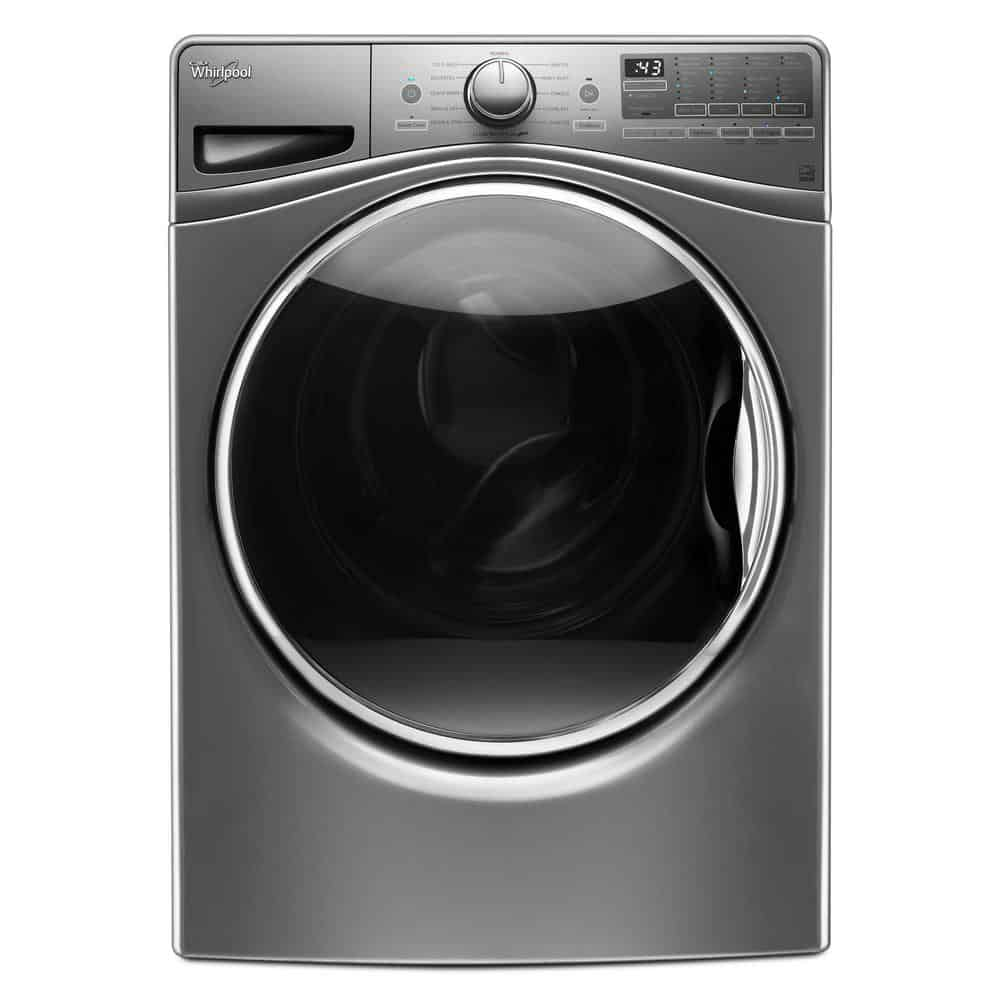 Washing machine with advanced vibration