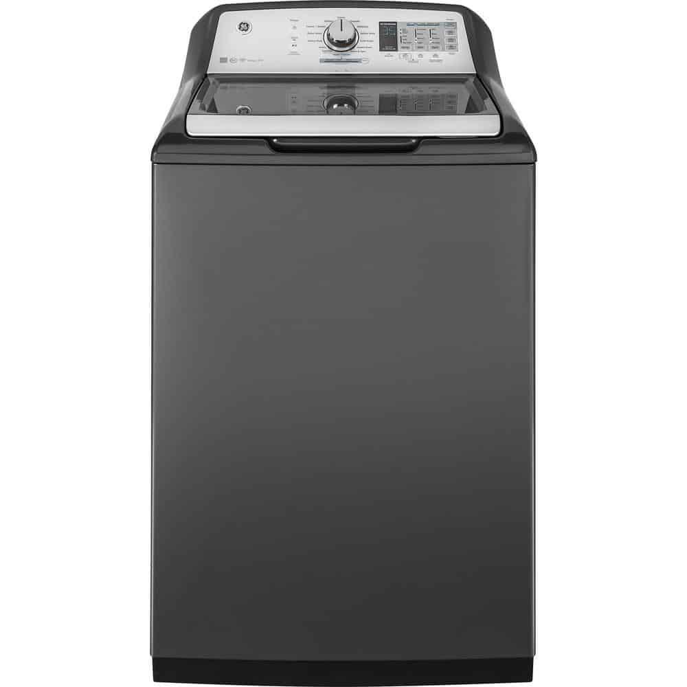 Washing machine with cycle status indicator