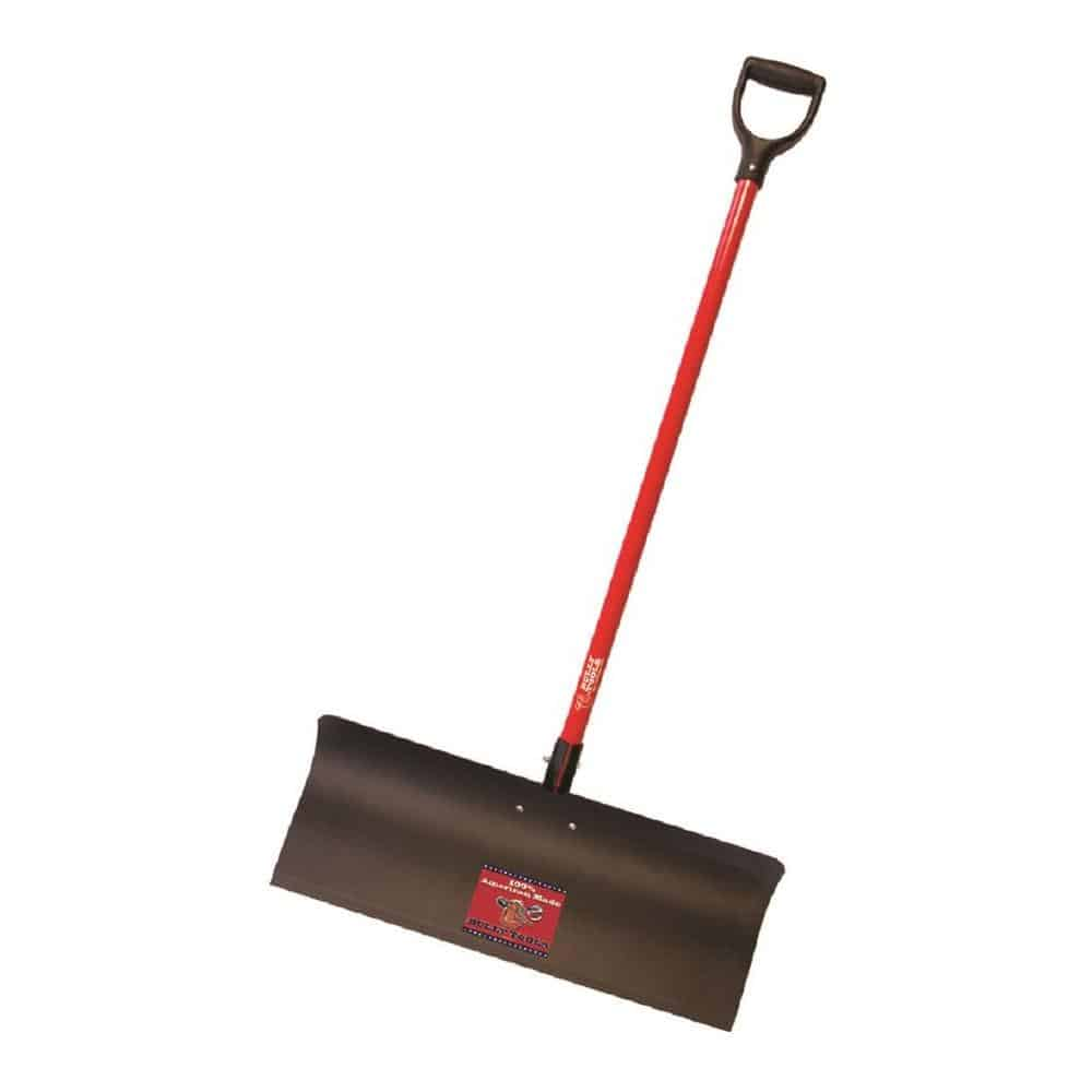 Fiberglass snow shovel