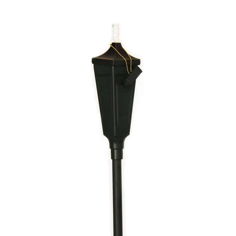 Traditional patio torch