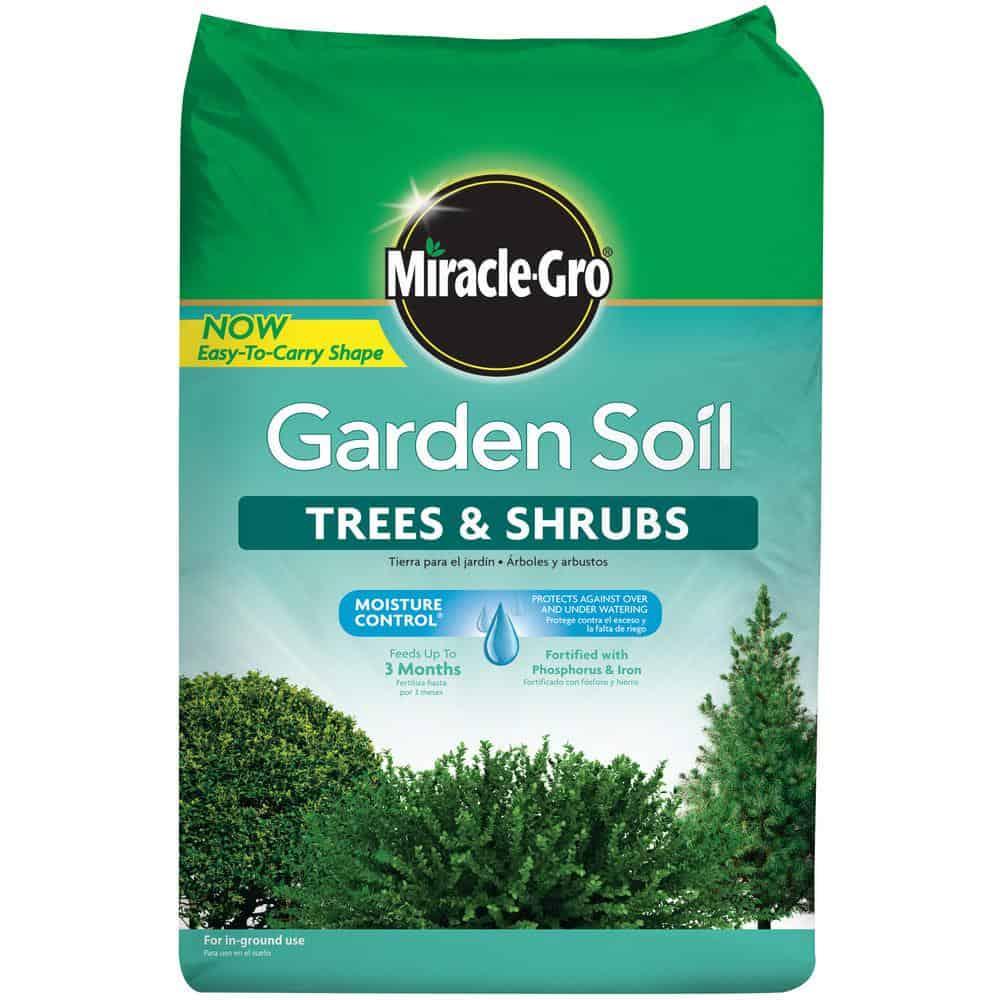 Trees and shrubs soil