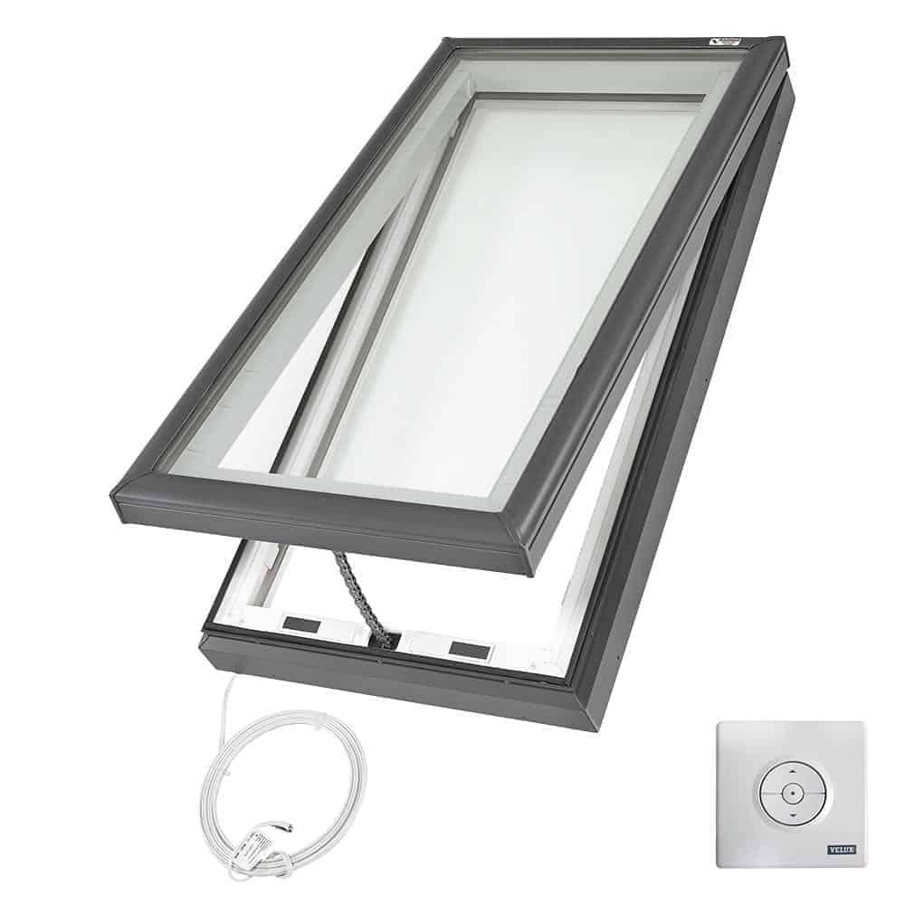 Ventilating skylights