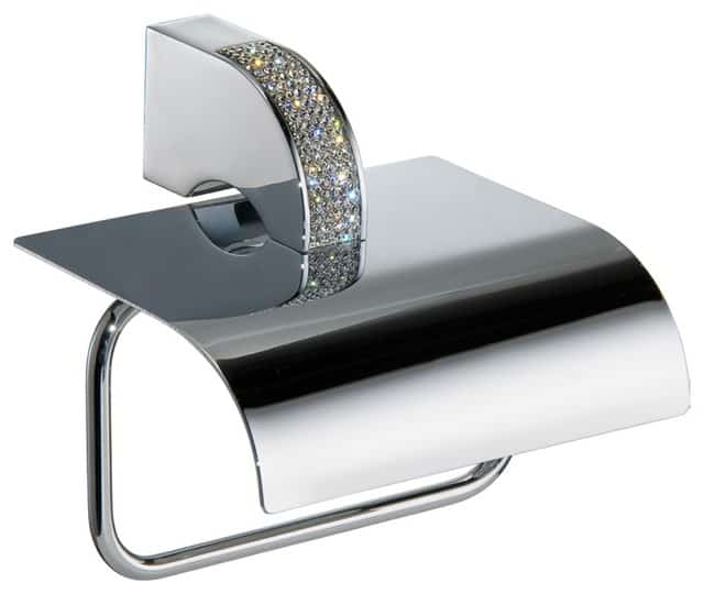 Bejeweled toilet paper