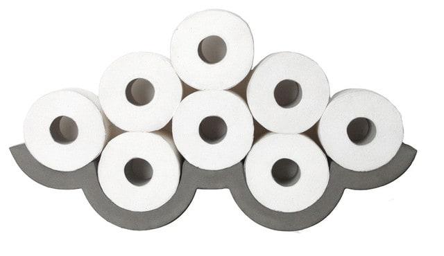 Concrete toilet paper