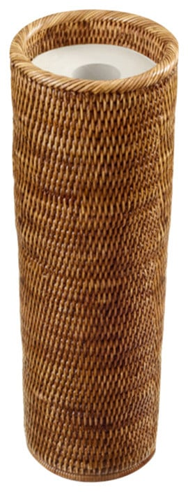 Wicker/rattan toilet paper