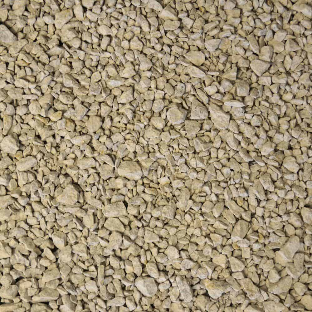 Stones and gravel of different texture and sizes.