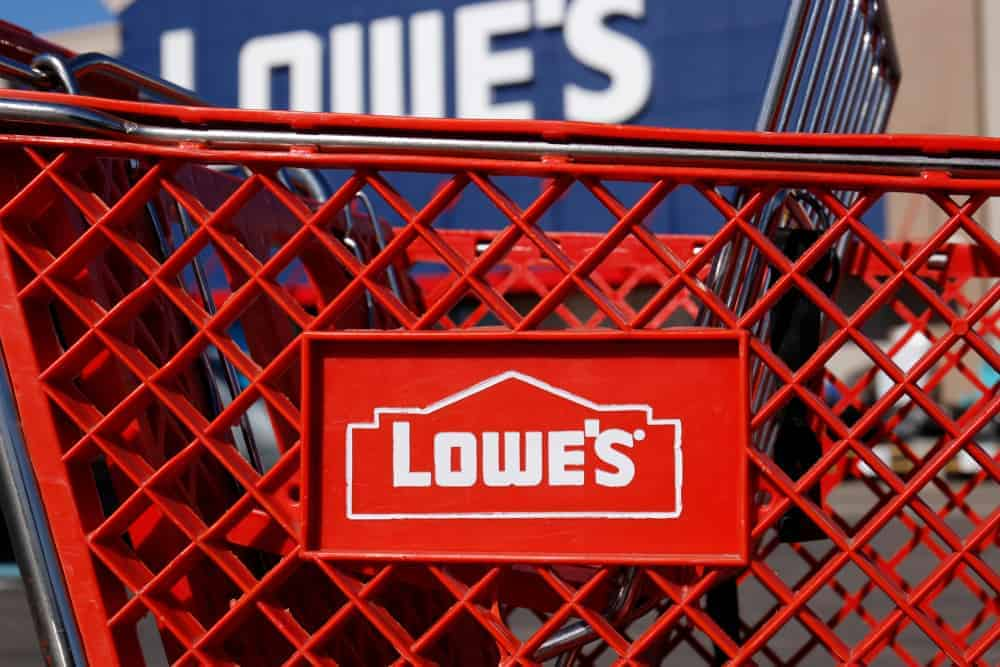 Lowe's shopping cart