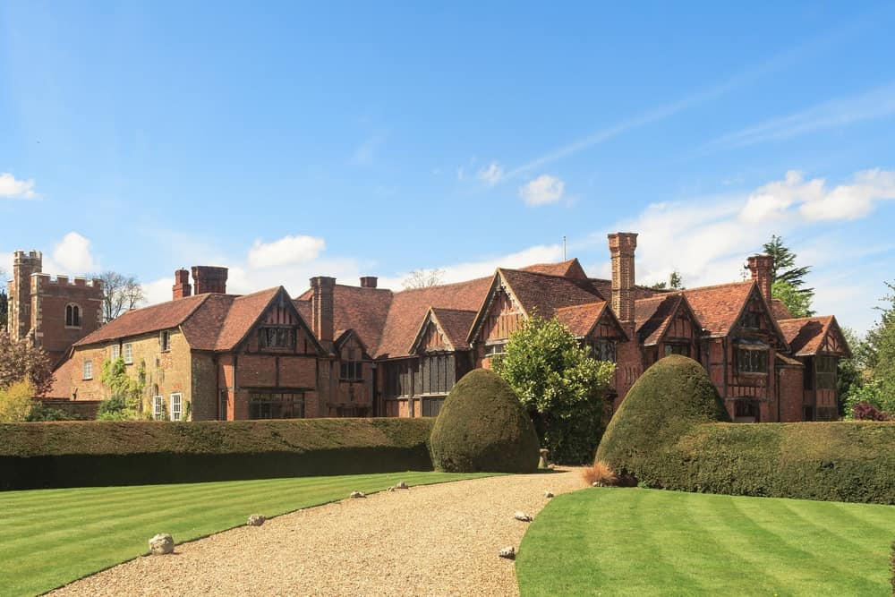 Manor house in Eton Dorney Berkshire