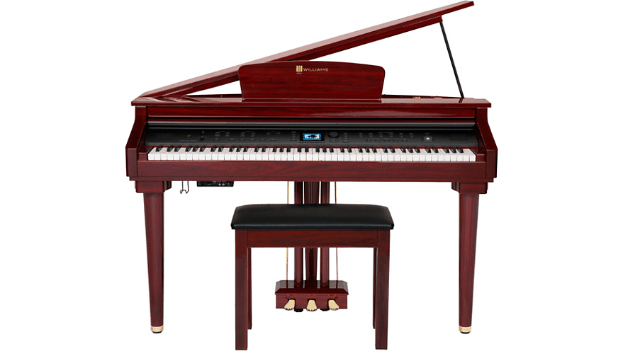 Williams symphony mini grand piano.