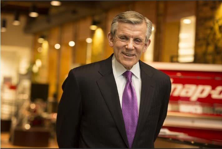 Nick Pinchuk, the chairman and CEO of Snap-on in Milwaukee.