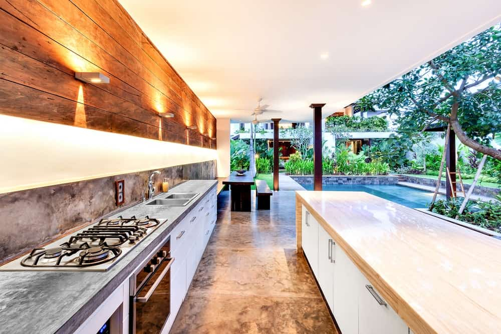 23 Outdoor Kitchen Lighting Ideas and Examples