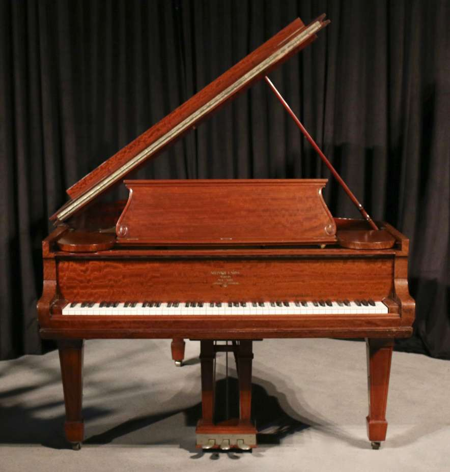 Classic model parlor grand piano.