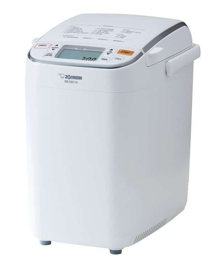 Tall. premium white bread maker with an alarm.