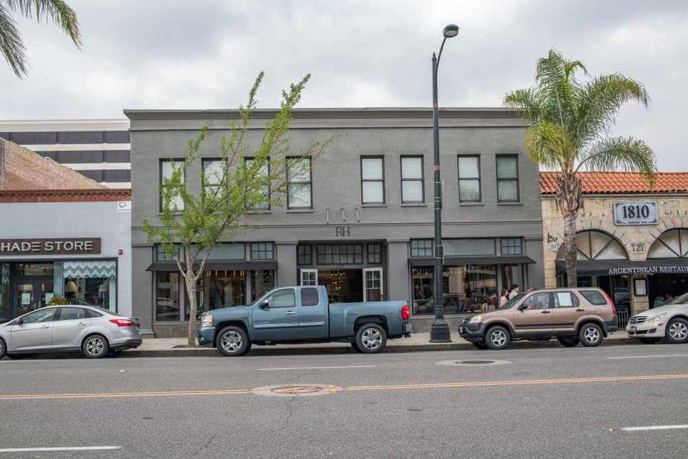 RH store in Pasadena, Ca, USA.