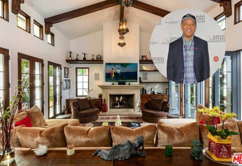 Russell Simmons lists his Hollywood Hills home for $8.25M.
