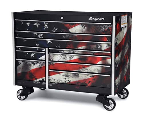 "54"" 10 Drawer Double-Bank Masters Series Roll Cab"