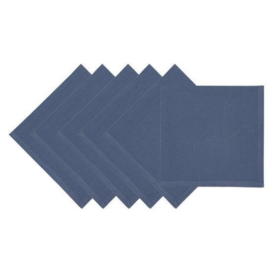 Square shaped napkin.