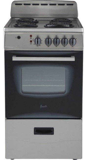 Cooktop with four burners.