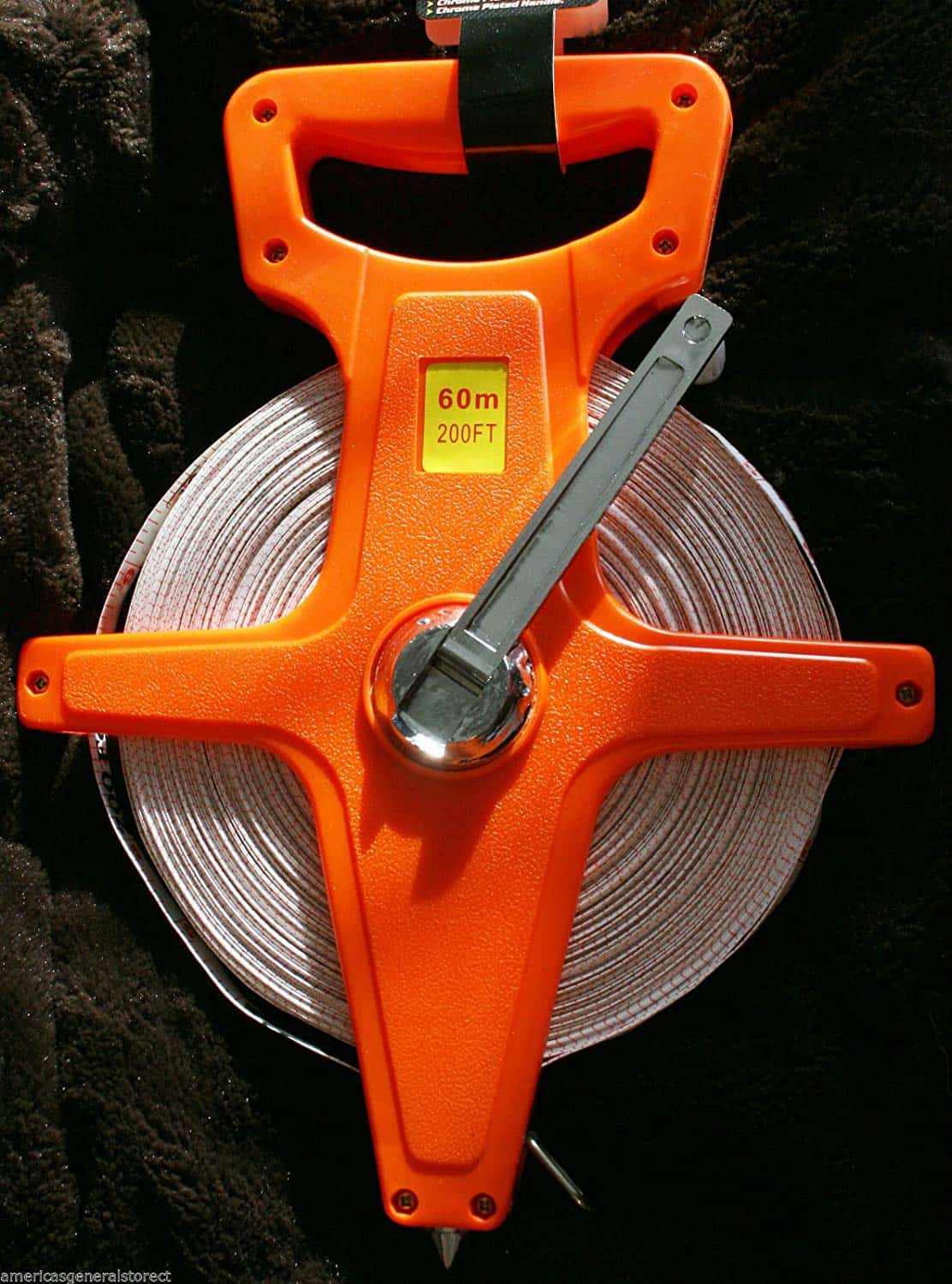 Import open reel fiberglass surveyor tape.