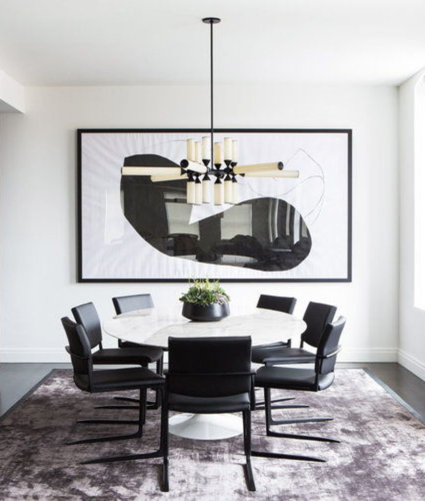 50 Dining Rooms with Round Dining Tables for 2019