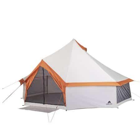 8-person yurt