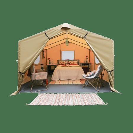Polyester yurt