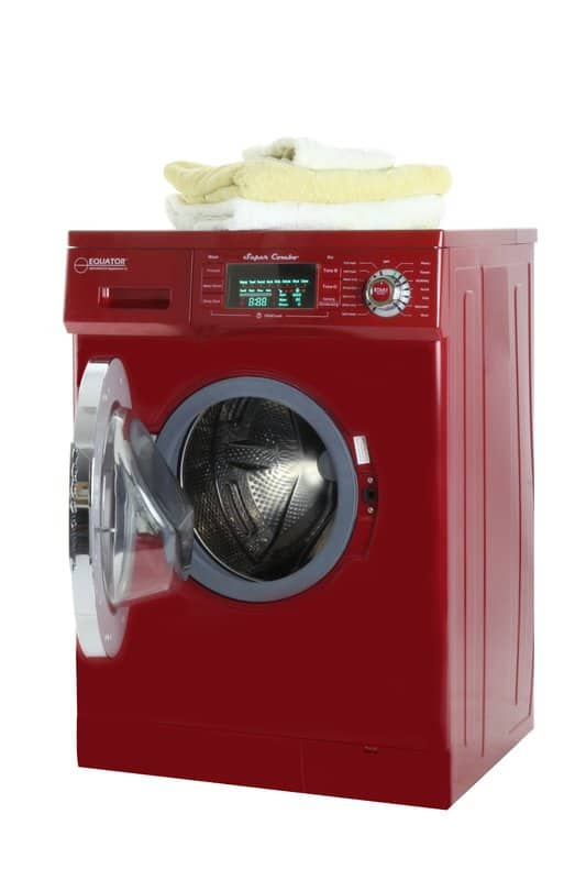 Pedestal storage washing machine
