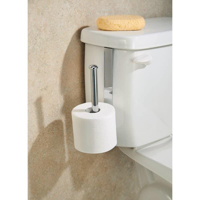 Tank-mounted tissue holder