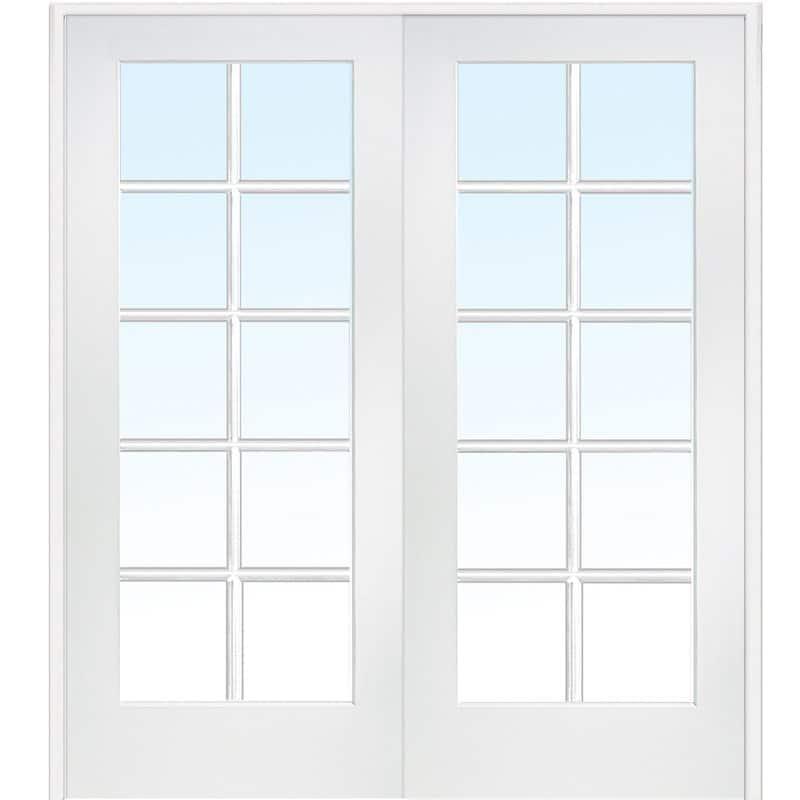 Tempered glass door
