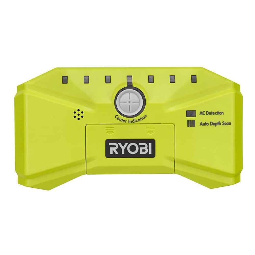 The Ryobi LED Whole Stud Detector is a great product for detecting whole studs behind your wall.