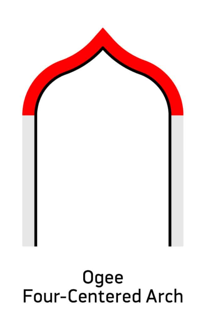 Ogee Four-Centered Arch