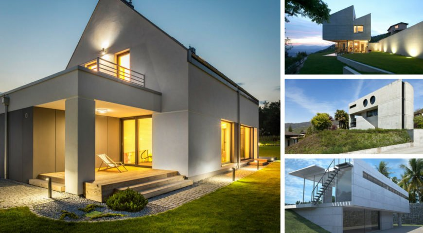 4 houses with concrete exterior aug13