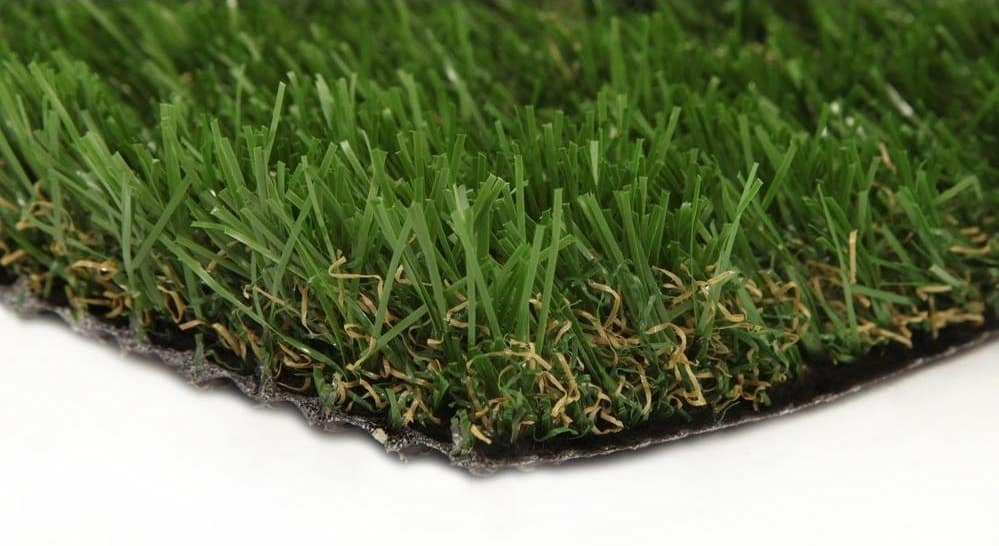 Close up of artificial grass.