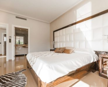 Bedroom interior design with feng shui.