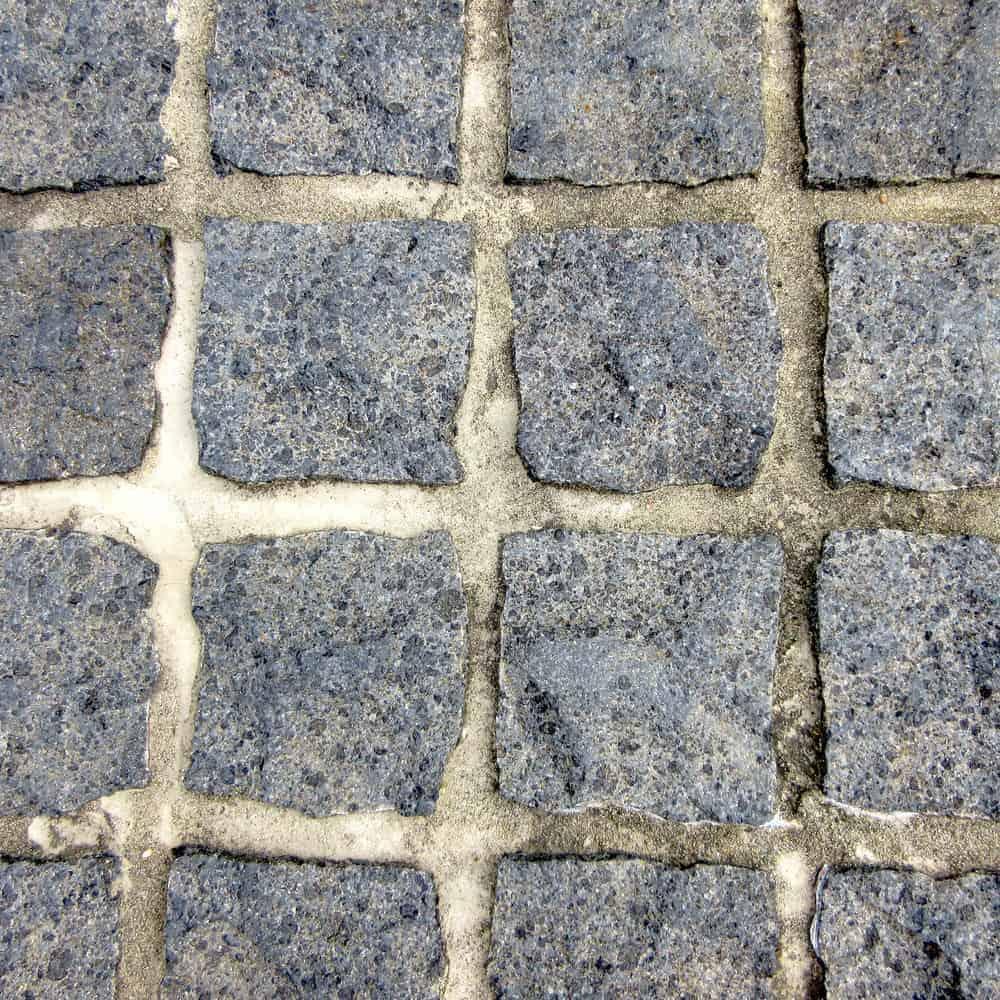 Bluestone cobbles