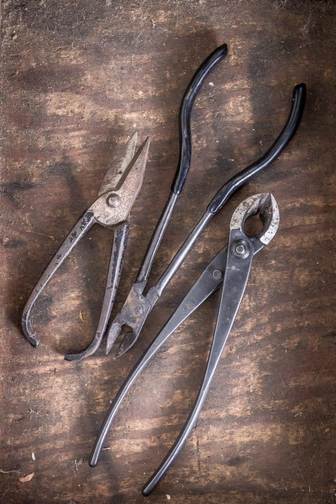 A set of bonsai wire cutter