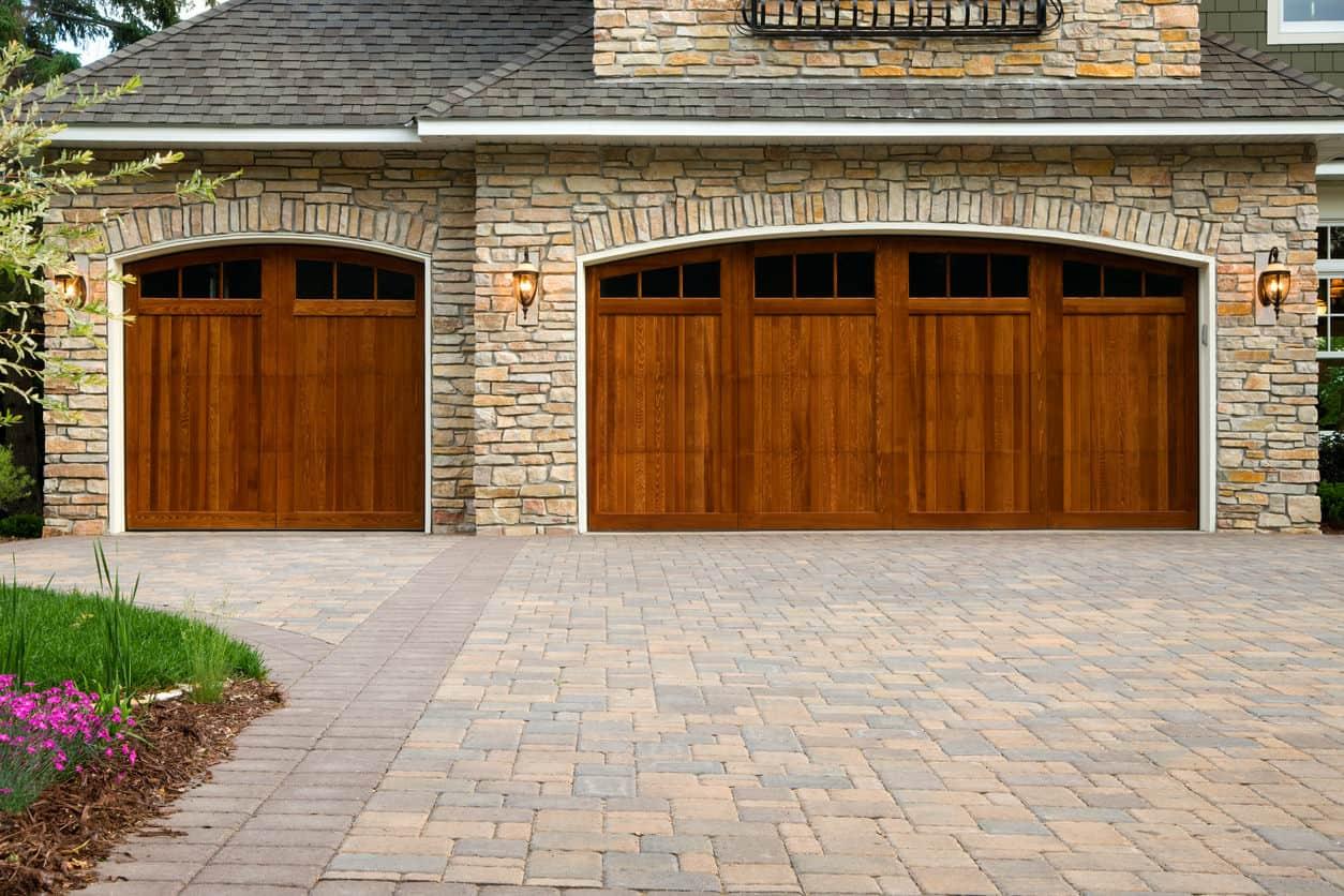 Brick driveway example