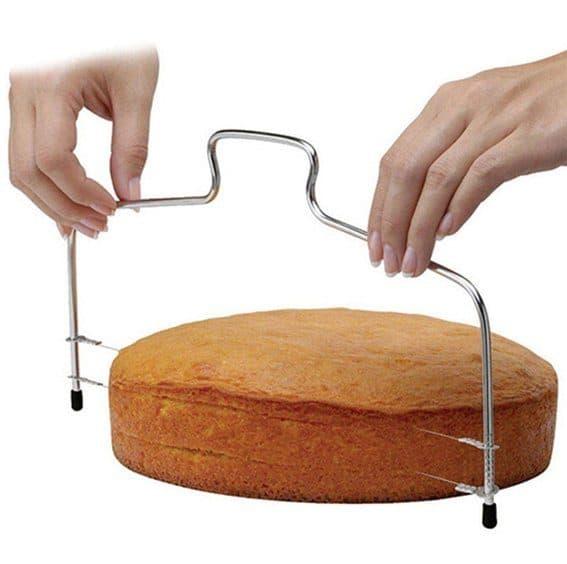 Regular cake leveler.