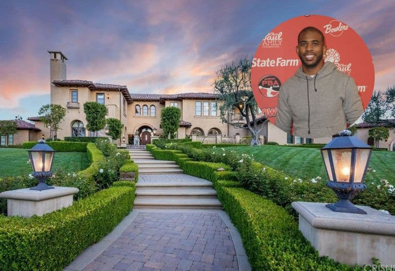Chris Paul just sold his Calabasas mansion for $11.05M.