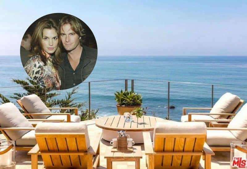 Cindy Crawford and Rande Gerber sold their Malibu home for $45M.