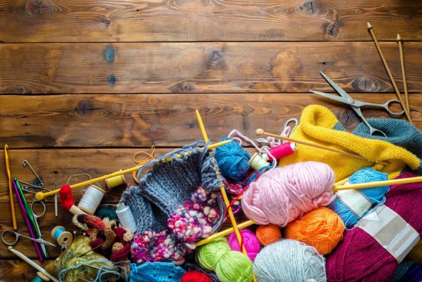 Types of crochet tools.