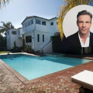 Dennis Quaid lists his Pacific Palisades home for $6.495M.