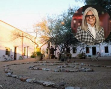 Diane Keaton buys Tuscon adobe for $1.5M.