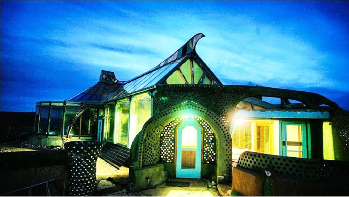 Earthships are perfect examples of eco-friendly homes.