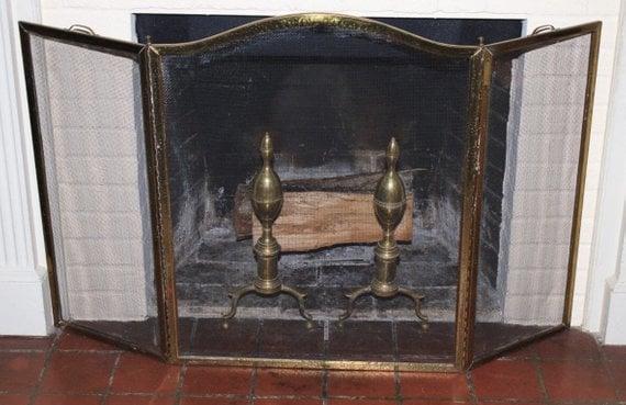 Andiron as a fireplace tool