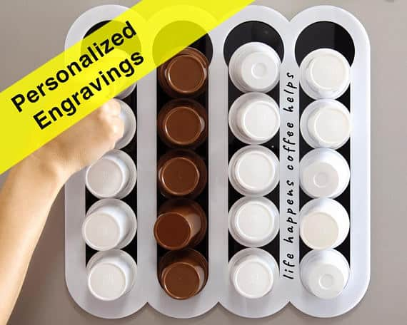 Personalized K-cup storage