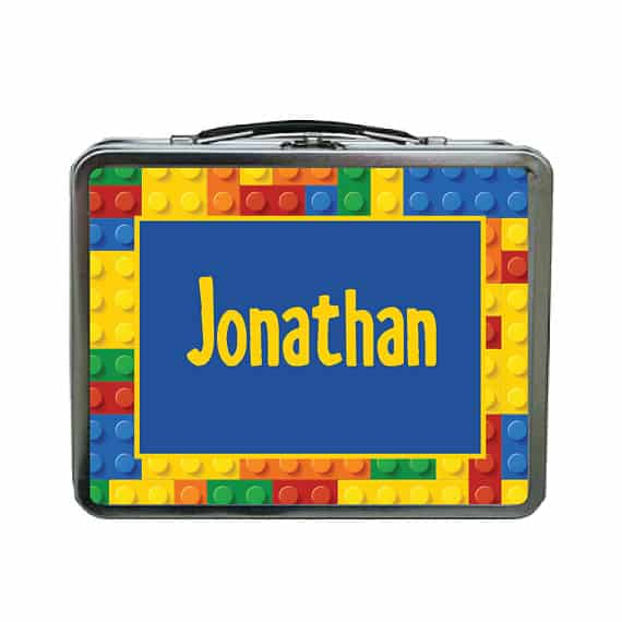 Personalized lego storage
