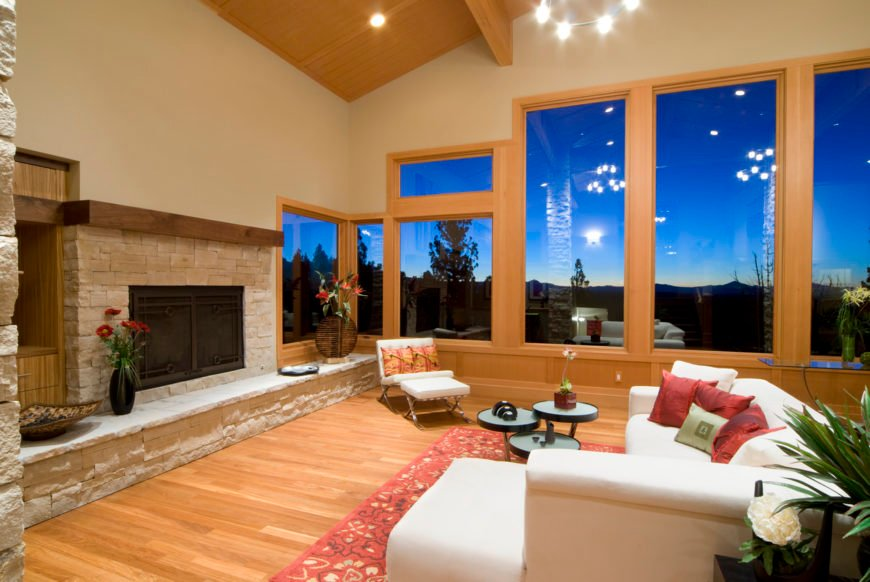 Feng shui living room photo example