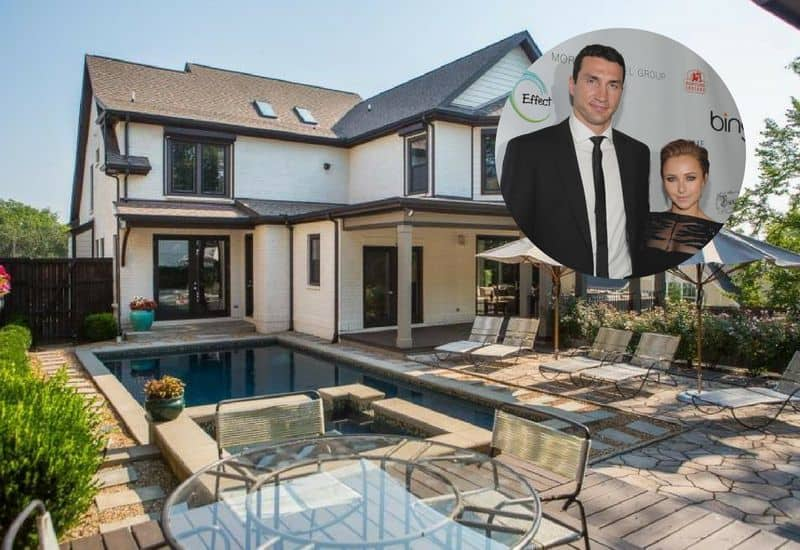 Hayden Panettiere and Wladimir Klitschko lists their Nashville Tennessee home for $1.65M.